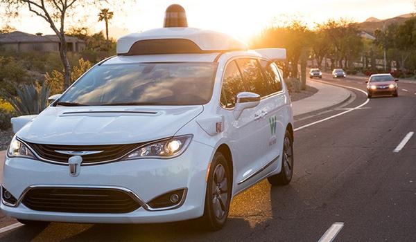 Vandalen hebben het op zelfrijdende auto's gemunt