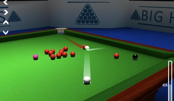 International Snooker Classic - Oefenen op het groene laken