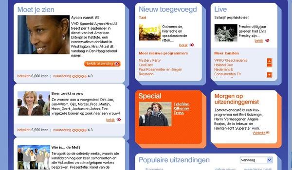 Uitzendinggemist.nl is vernieuwd