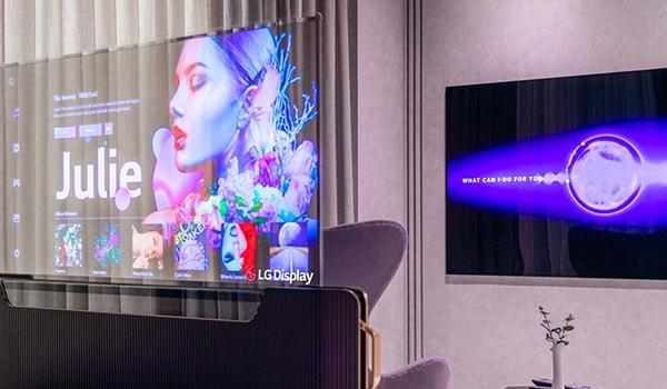 Luxe in de slaapkamer met LG Transparent OLED Smart Bed