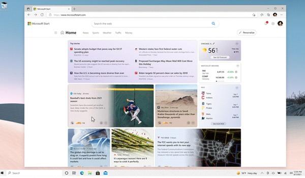 Microsoft Start is nieuwsdienst binnen en buiten Windows