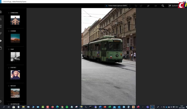Adobe Photoshop Express: foto bewerken