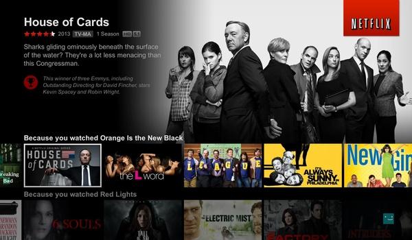 Netflix verbruikt minder data door individuele coderingen