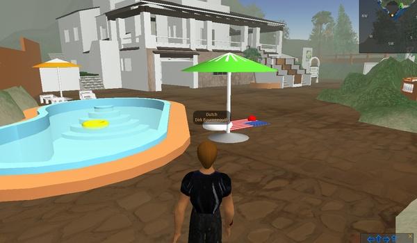 Echte vakantiehuizen in Second Life