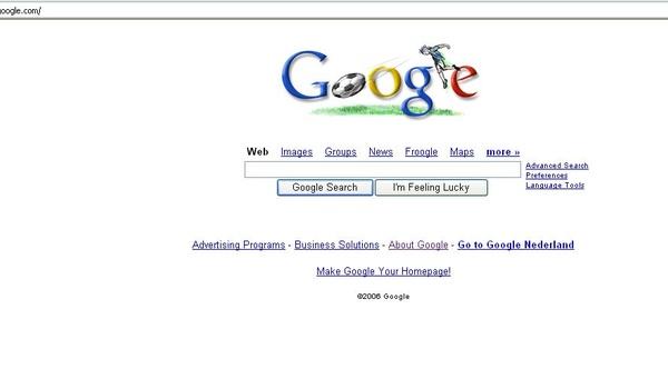 WK-gekte: maak uw eigen voetbal-startpagina met Google