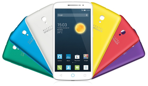 Alcatel komt met goedkope 4g-smartphone Onetouch Pop 2