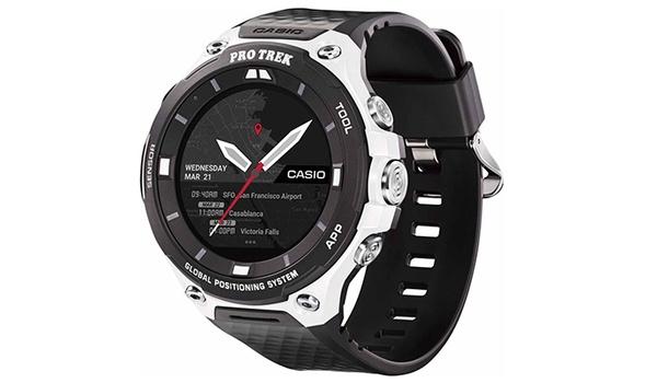 WSD-F20SC is extra stevige Casio-smartwatch