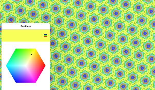 KaleidoPaint - Symmetrische kunst op je telefoon