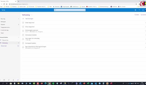 Microsoft To Do: mogelijkheden van taken en lijstjes