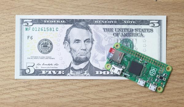 Nieuwe Rasbperry Pi Zero is kleinste tot nu toe