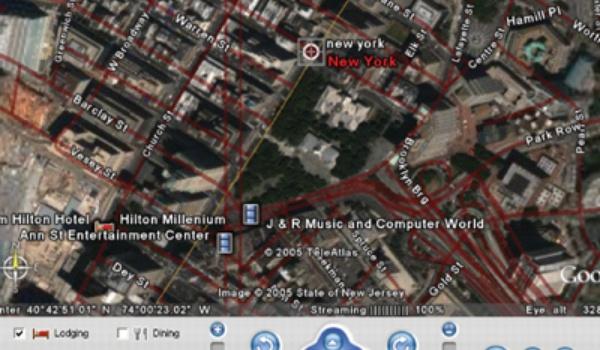 Google Earth staatsgevaarlijk?