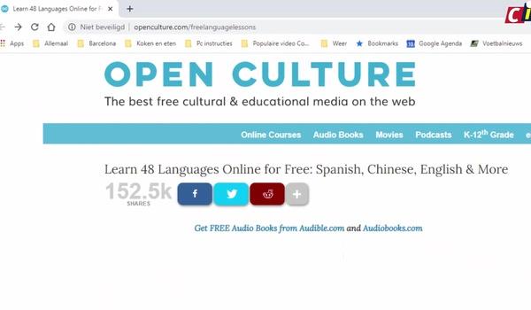 Open Culture Free Language Lessons