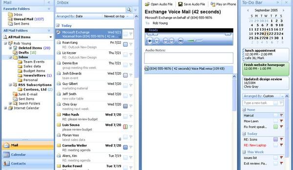 Sms-berichten versturen met Outlook 2007