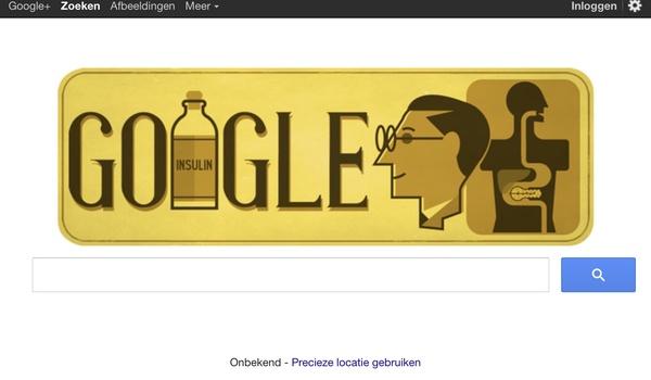 Frederick Banting herdacht met een Google Doodle