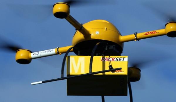 DHL laat drone medicijnen leveren