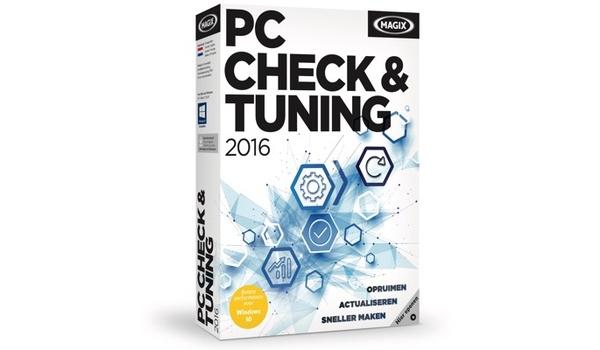 Magix komt met editie 2016 van PC Check & Tuning