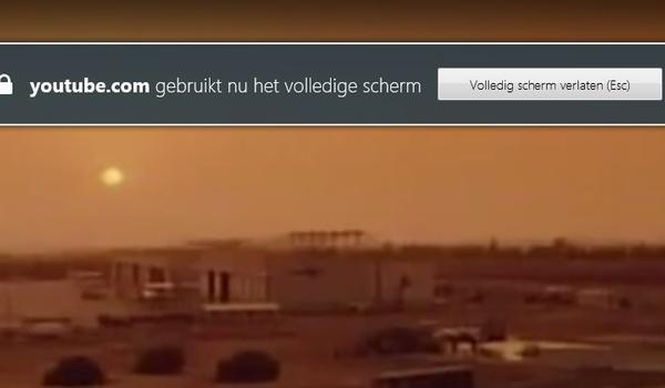 Verwijder de 'fullscreen-melding' bij YouTube in Firefox