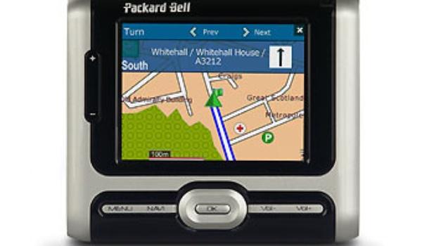 Ook Packard Bell gaat navigeren