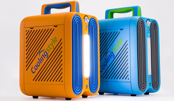 Overal airco én smartphone opladen met Coolingstyle