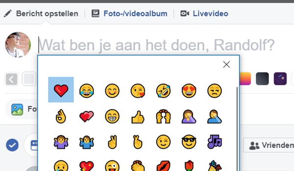 Emoji altijd bij de hand met Chrome op Windows 10