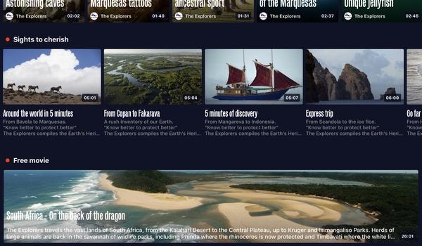 The Explorers - Digitaal op reis