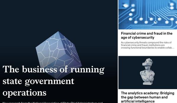 McKinsey Insights - Lees alles over grote problemen en uitdagingen