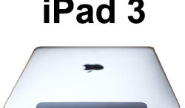 iPad 3 begin 2012 verwacht