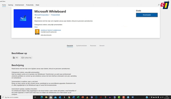 Microsoft Store: Microsoft Whiteboard (1)