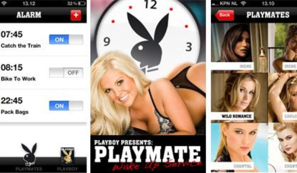 Playboy Playmate wekt iPhone gebruikers