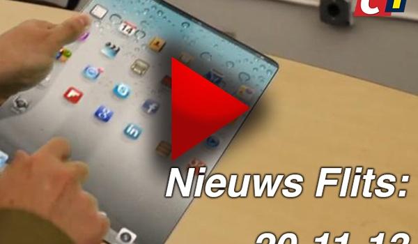 Nieuws Flits: Grotere iPad in 2014 en Snapchat haalt Facebook in - 20-11-13