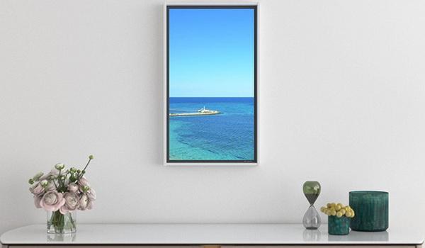 Elke dag ander uitzicht met de Atmoph Window 2