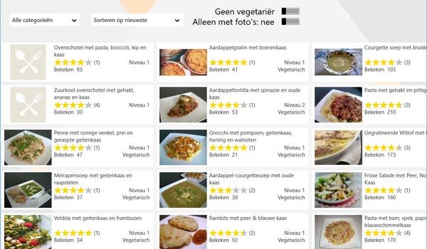 Recipe4share - Zoek, bewaar en deel recepten