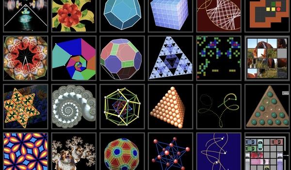 Math to Touch - Symmetrische wereld