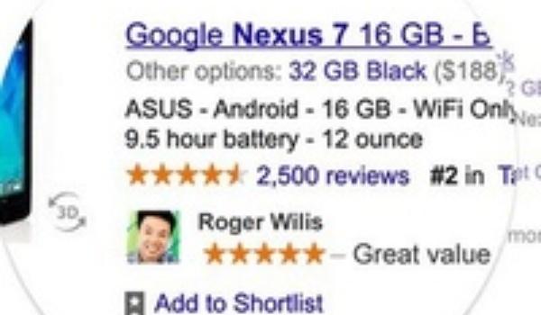 Google verwerkt vanaf nu persoonlijke gegevens in online reclames