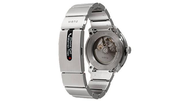 Ieder horloge slim met Wena-bandje