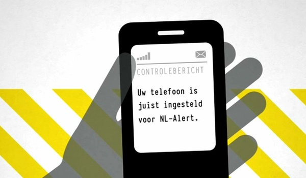 NL-Alert instellen op smartphone