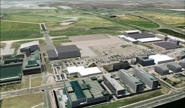 Flight Sim Nederlands landschap
