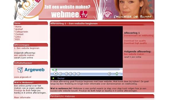 Froukje de Both geeft online website bouwen-les