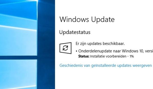 'Windows 10 April Update op 84 procent van pc's aanwezig'