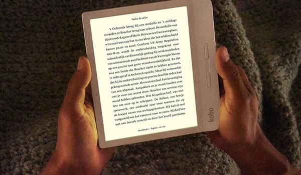 Kobo Libra H2O is e-reader met fysieke knoppen