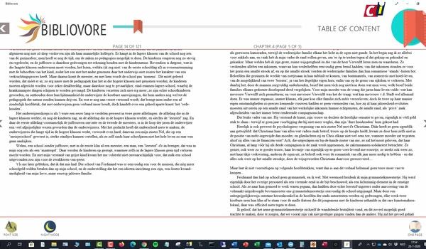 Windows 10 Store: Bibliovore