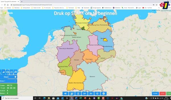 Topografische kennis opfrissen met TopoMania