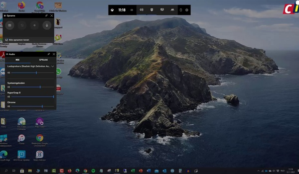 Windows 10: screencast maken met de Game Bar