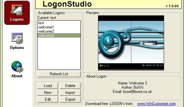 Logon Studio