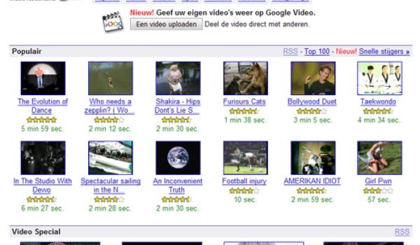 Google Video in het Nederlands