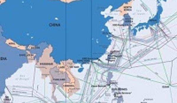 Bekijk deze prachtige interactieve kaart van alle internetverbindingen ter wereld