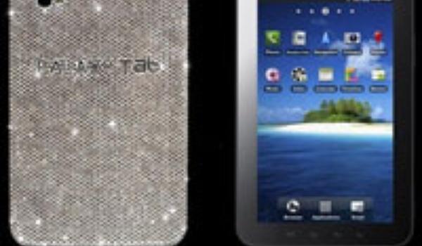 Exclusieve Samsung Galaxy Tab met Swarovski kristallen
