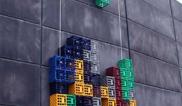 Tetris, maar dan in het echt