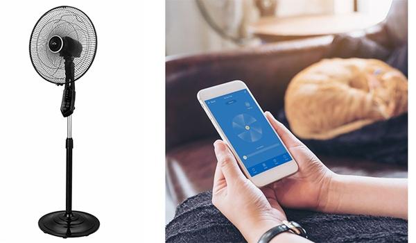 Slimme verkoeling met de AirGo Smart Fan