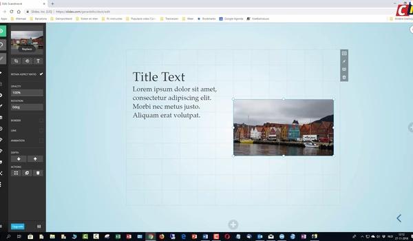 Slides: content toevoegen